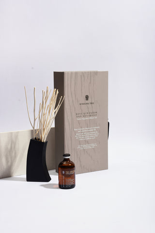 Rose Geranium and Rosewood Home Fragrance Diffuser Refills