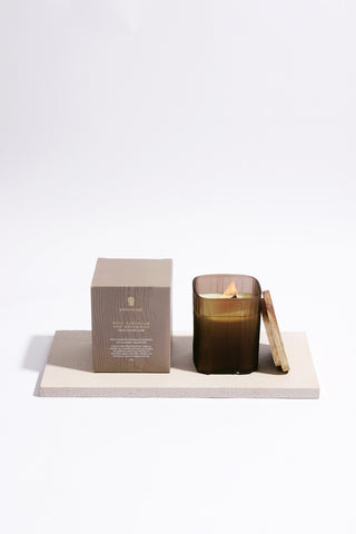 Rose Geranium and Rosewood Natural Soy Wax Candle 200g
