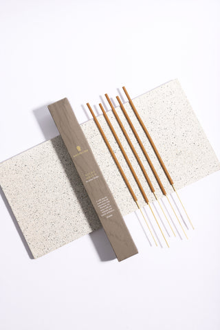 Grass Incense in Silk Box