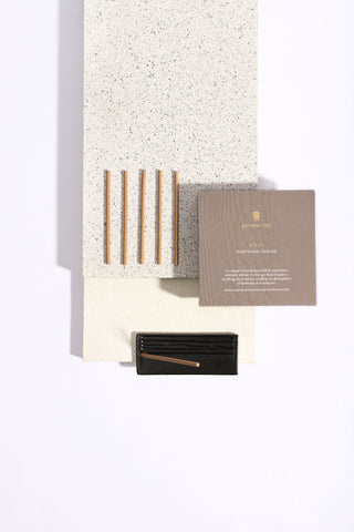 Amber Travel Incense Stick Kit