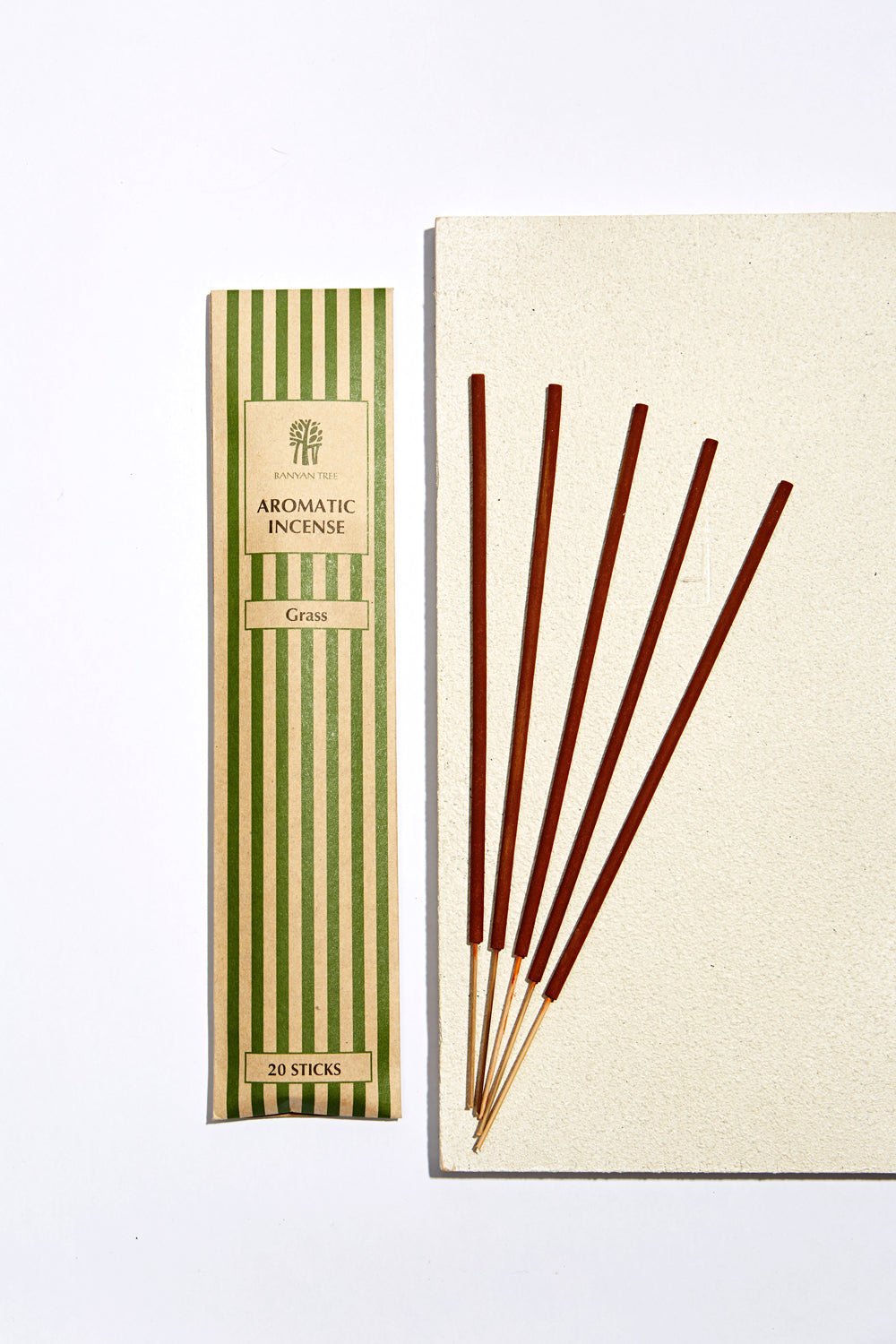 Grass Aromatic Incense Sticks - Banyan Tree Gallery