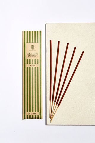 Frangipani Incense in Silk Box