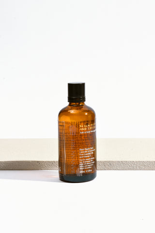 Lavender and Geranium Bath & Body Massage Oil | Bliss
