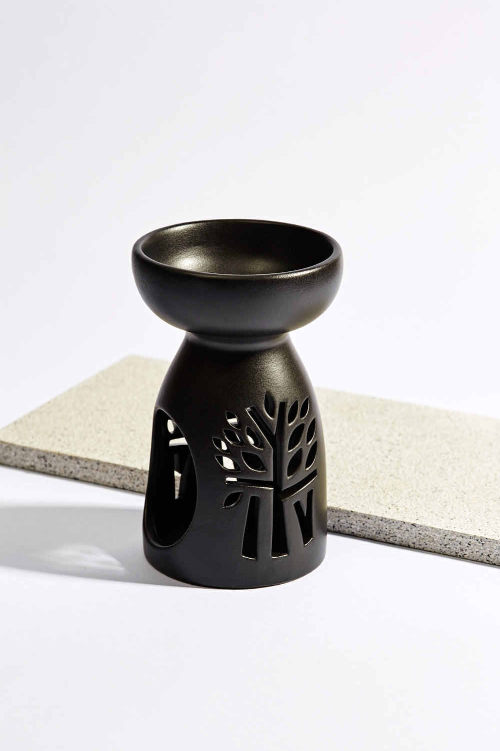 Black Oil Burner - Medium - Banyan Tree Gallery