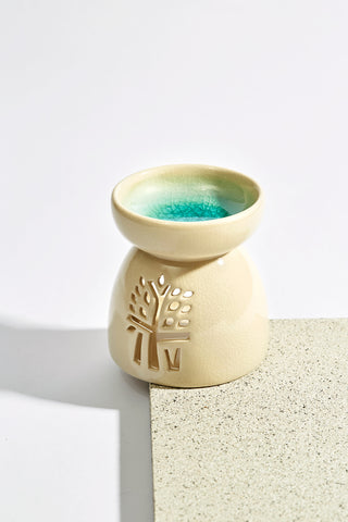White Oil Burner - Mini - Banyan Tree Gallery