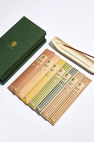 Incense Sticks with White Incense Holder Gift Set Banyan Tree Essentials