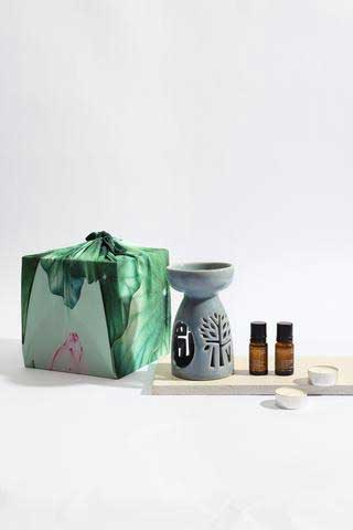 Peppermint and Eucalyptus Home Fragrance Diffuser Set