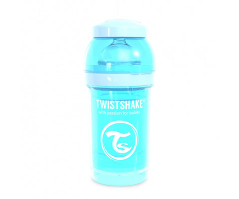 Twistshake Biberón Anticólico 260ml Amarillo