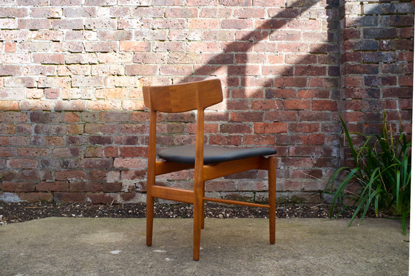 Arne Vodder dining chair set