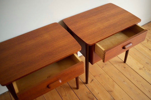 Danish bedside tables (2)