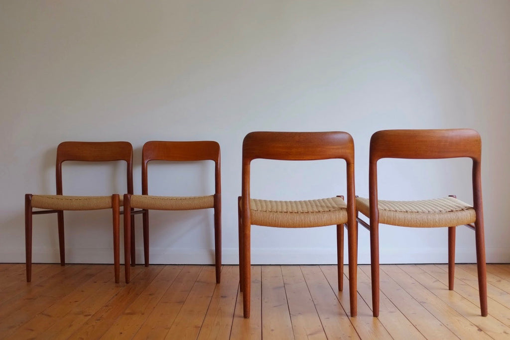 Niels Moller dining chairs (4)