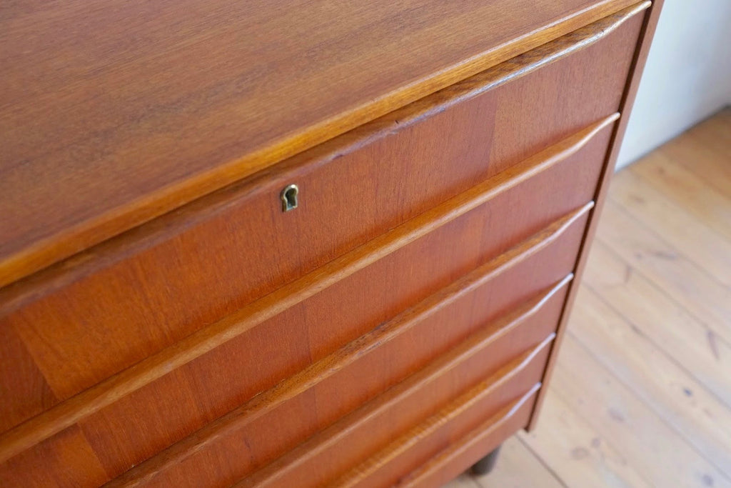 Danish teak drawer chest