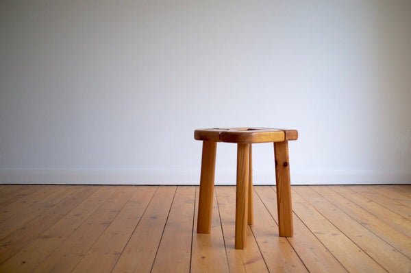 Finnish pine stool