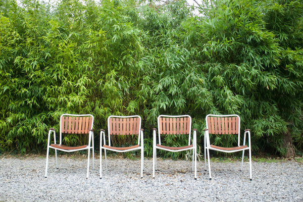 Danish garden chairs (4)