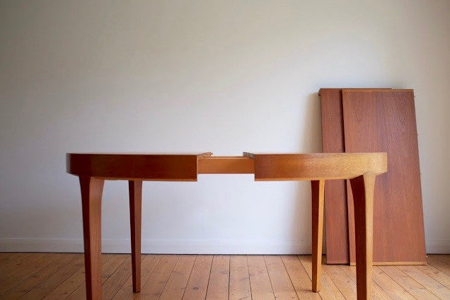 Danish extending dining table