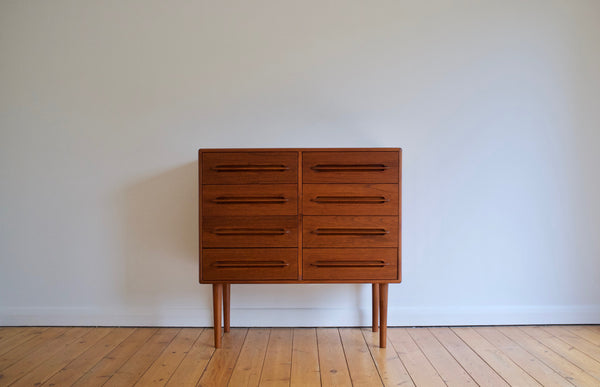 Double dresser drawer chest