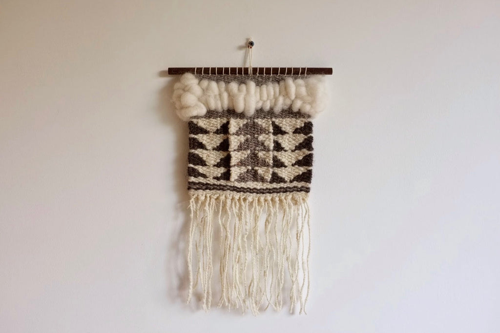 Woven wall hanging - Flying Geese IV