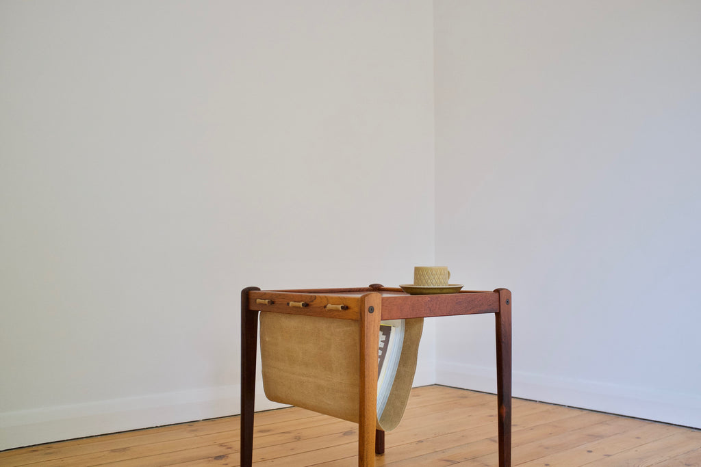 Rosewood magazine table by Bent Silberg