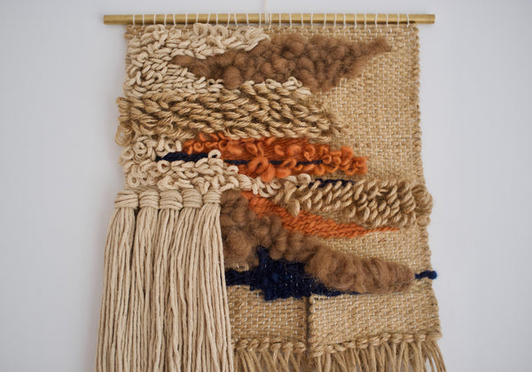 Woven wall hanging - Linden