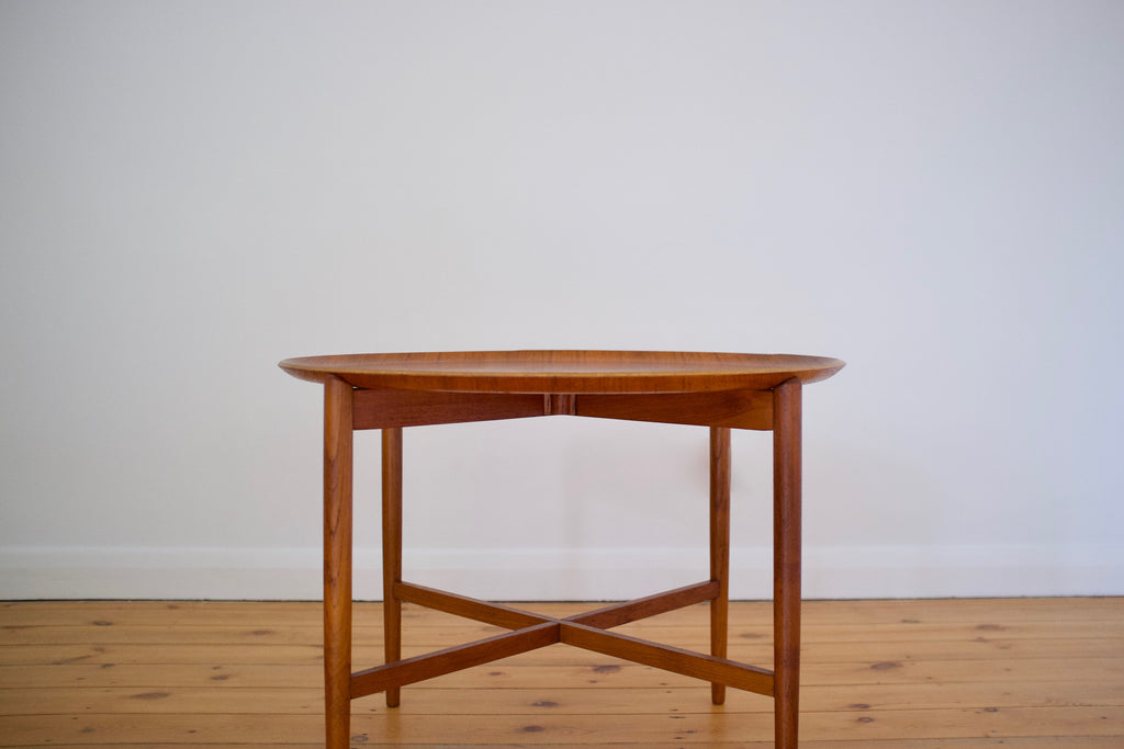 Danish folding tray table