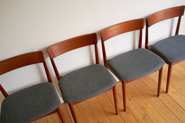 Henry Rosengren Hansen dining chair set (4)