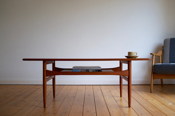Andreas Hansen teak coffee table