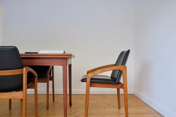 Kai Kristiansen dining chair set