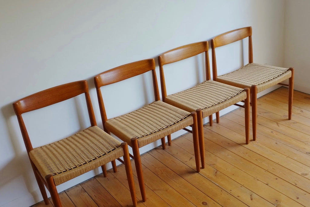 HW Klein dining chairs (4)