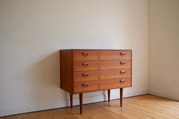 Kai Kristiansen teak drawer chest