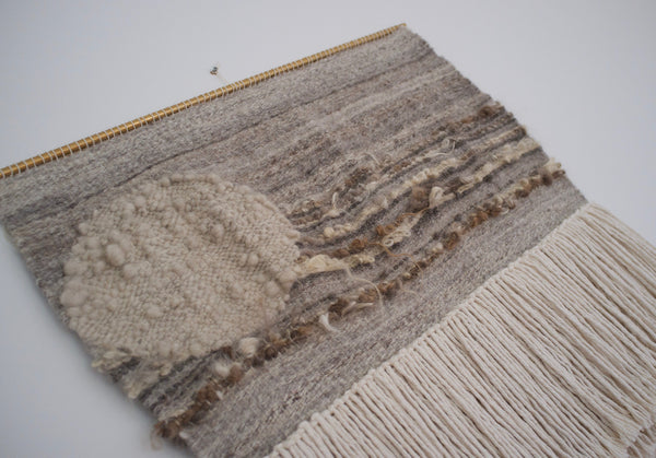 Woven wall hanging - Far Side