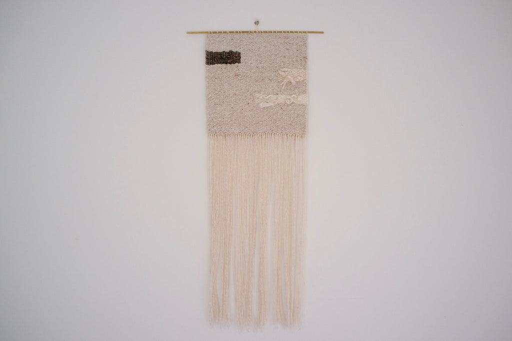 Woven wall hanging - Coil