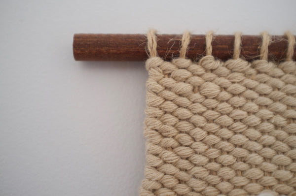 Woven wall hanging - Mini Spike
