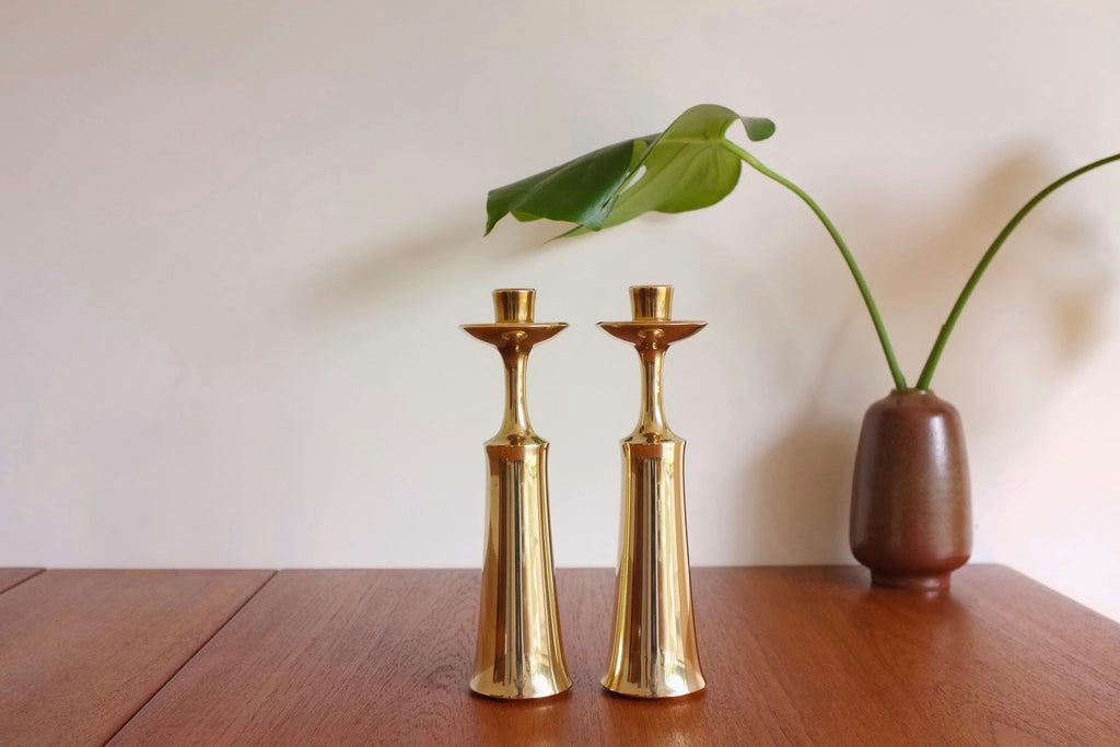 Jens Quistgaard candle holders