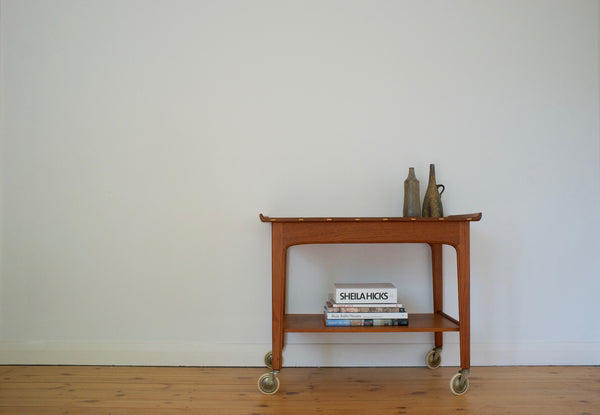 Swedish serving cart