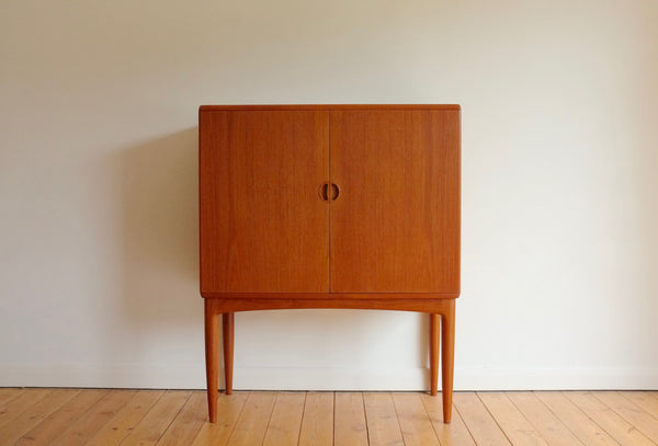 Danish bar cabinet in teak