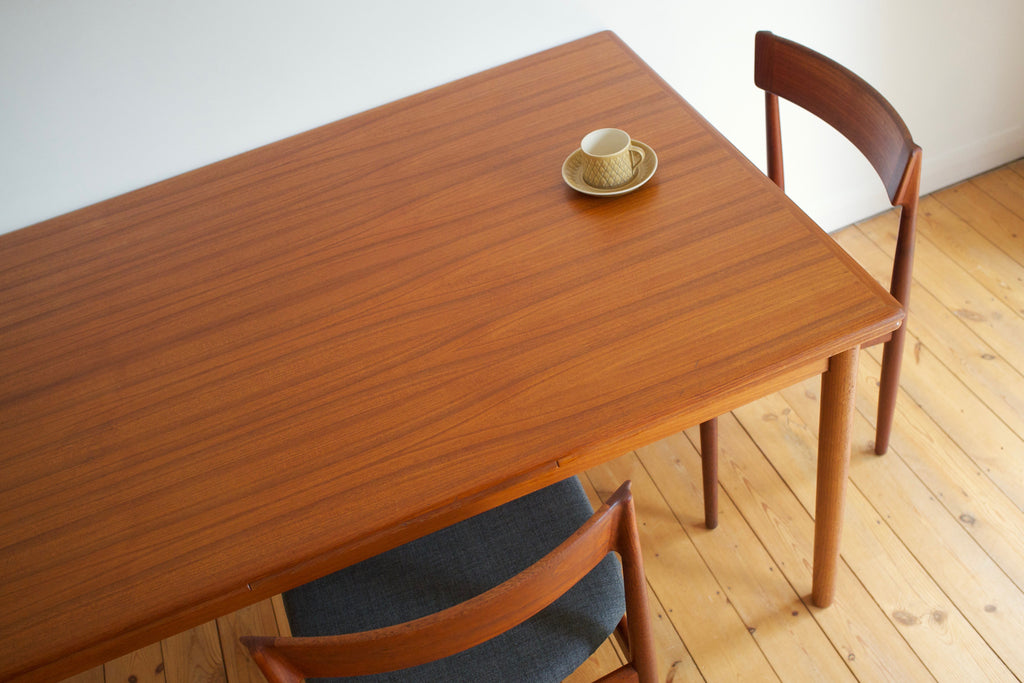 Extending Danish dining table