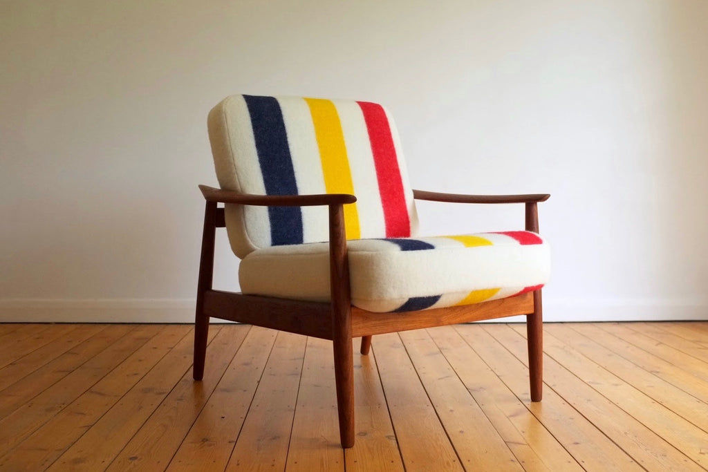 Arne Vodder x Hudson's Bay lounge chair