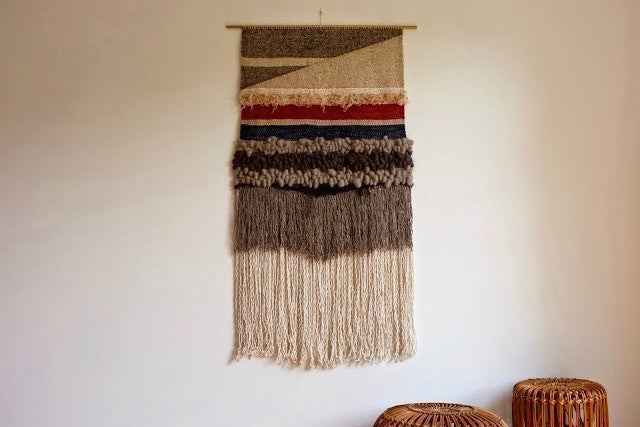 Woven wall hanging - Gelim