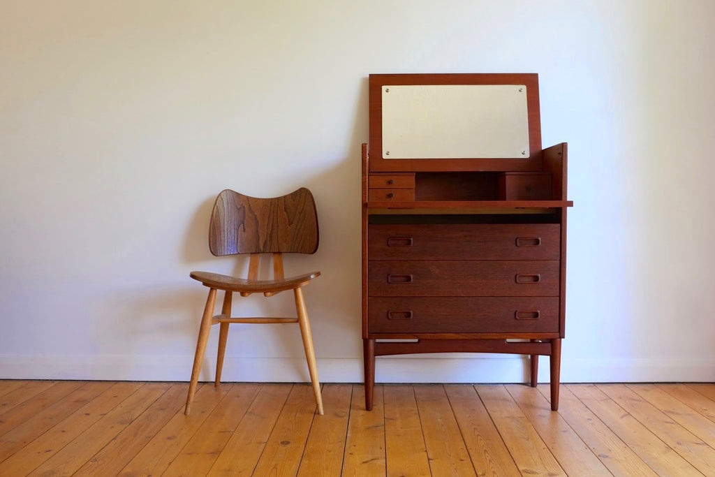 Danish dressing table cabinet
