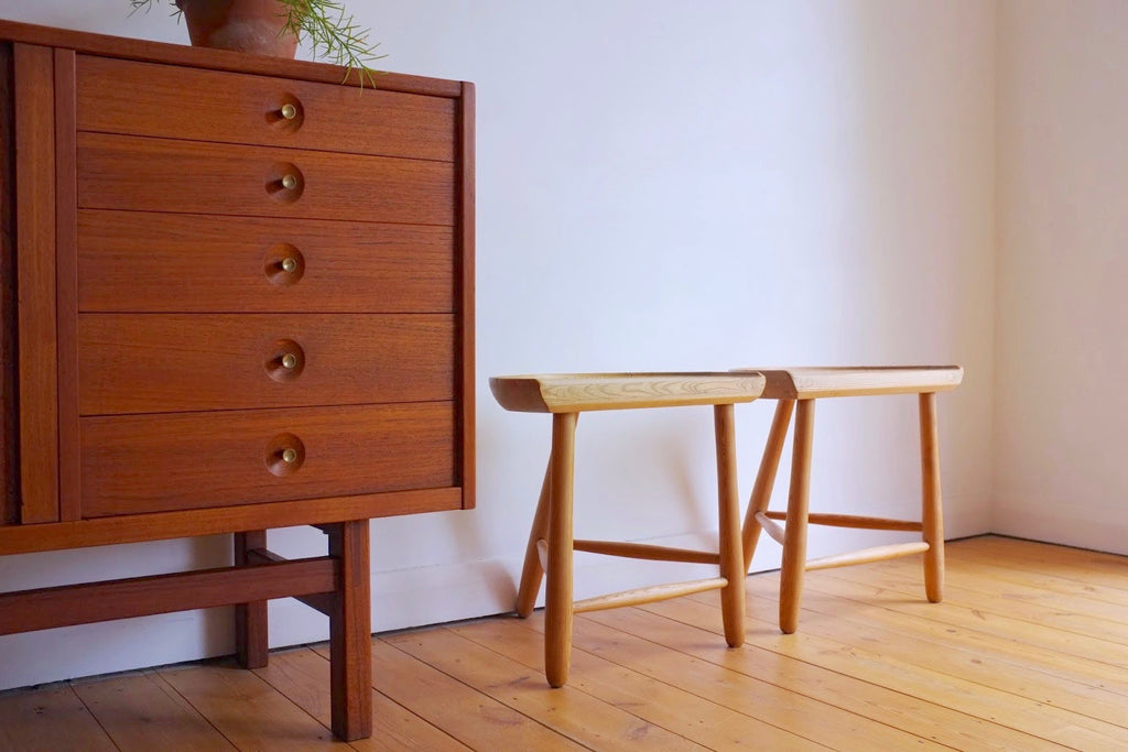 Two part stool set by Rakel Wayersvang