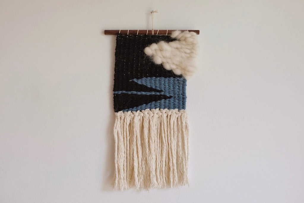 Woven wall hanging - Squall