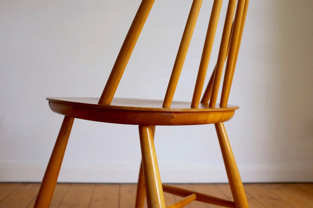 Swedish spindle backed chair