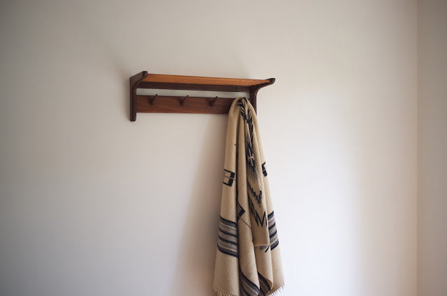 Mid-century hat & coat rack