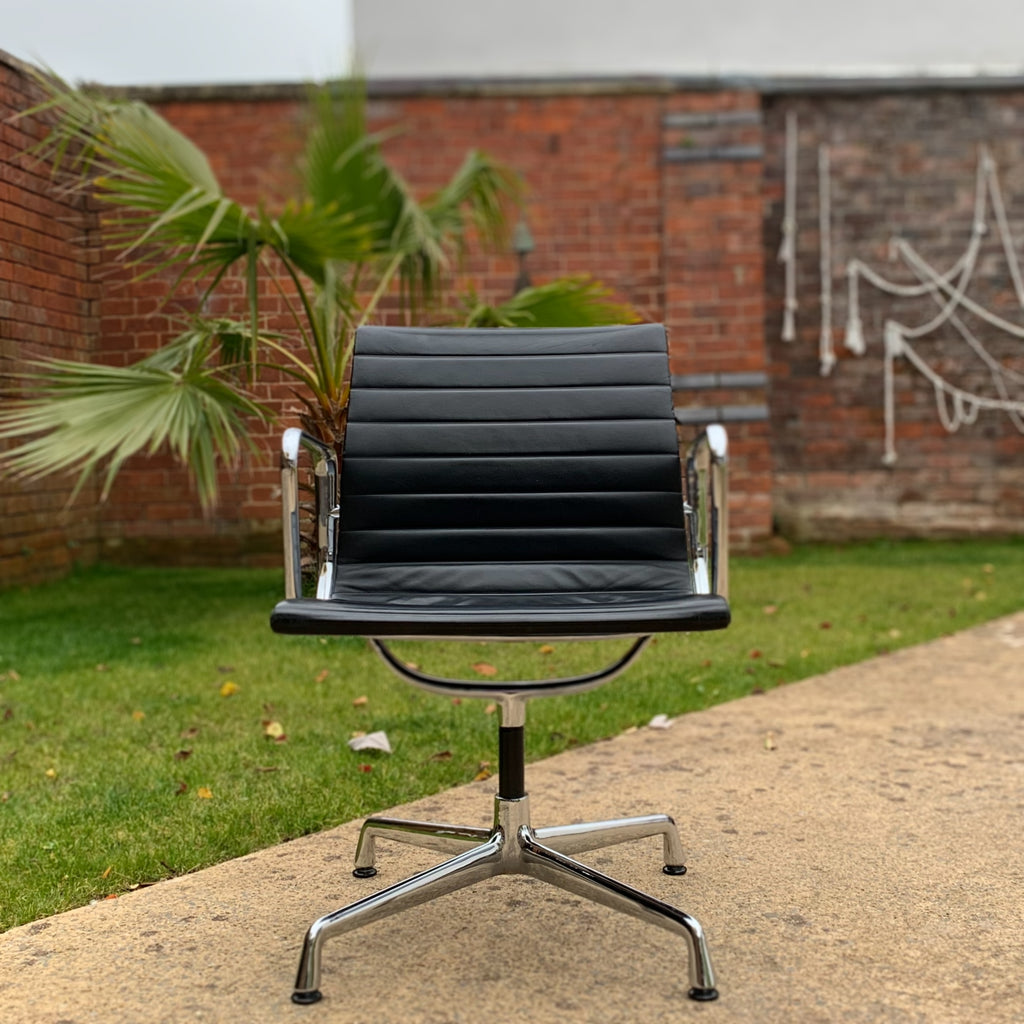Eames EA 108 Leather Office Chair