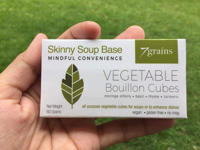 Skinny Vegetable Soup Stock (Bouillon Cubes)