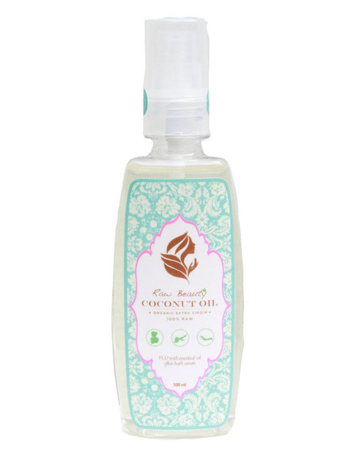 100% Pure Organic Extra Virgin Coconut Oil Serum with Essential Oils