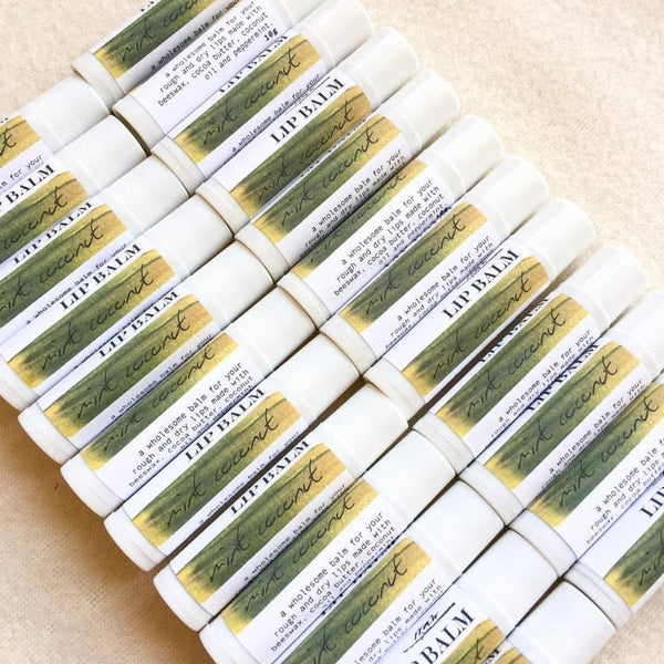 Mint Coconut Lip Balm