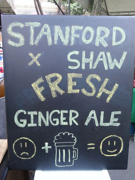 Old-fashioned Fresh Ginger Ale