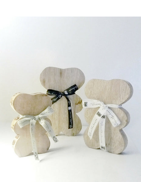 Eco-wooden Vanilla Bears