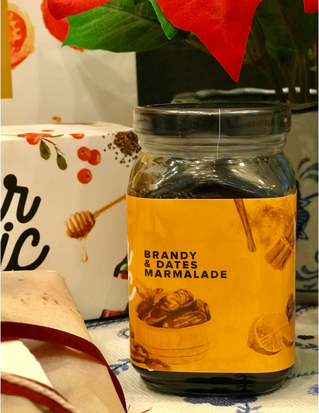 Brandy & Dates Marmalade